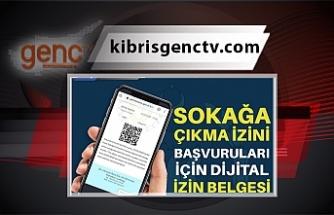 Dijital izin belgesi devrede
