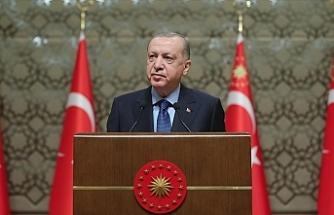 """Erdoğan: """"Üç yenilikçi aşı adayımız, faz çalışmalarına başlama arifesindedir"""""""