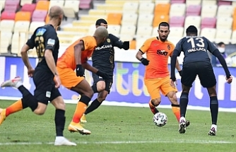 Galatasaray 3 puanı tek golle aldı