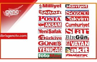 Türkiye  Gazetelerinin Manşetleri - 16 Ocak 2021