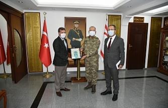 Arıklı'dan Güvenlik Kuvvetleri Komutanlığına ziyaret