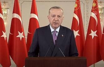 """Erdoğan: """"Ülkemizin bütünlüğü ve devletimizin bekası için gerekiyorsa hayatımızı ortaya koyuyoruz"""""""