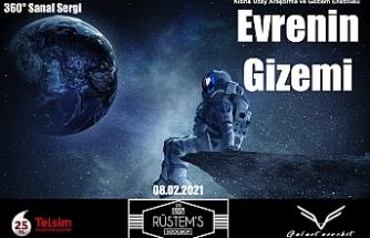 """""""Evrenin Gizemi"""" sergisi"""