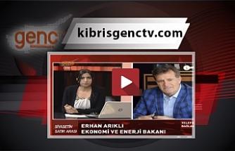 Kıbrıs Genç Tv yayınında gergin anlar