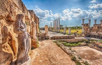 """Salamis Harabelerine ait bir parça e-bay"""" platformunda satışta"""