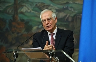 """Borrell: """"AB, Kıbrıs çözüm sürecinin BM himayesi altında en kısa sürede yeniden başlamasını destekliyor"""""""