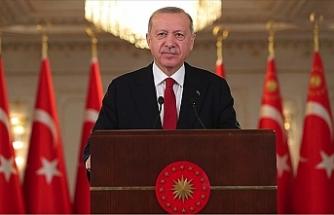 """Erdoğan: """"Kendi vatandaşlarımız ve Kıbrıs Türklerinin haklarını korumak için güçlü olmak durumundayız"""""""