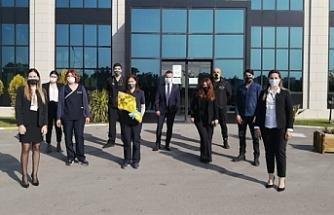 Fenerbahçeliler Derneği'nden Pandemi Hastanesine ziyaret