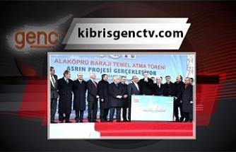 """Tatar: """"Alaköprü Barajının temelinin atılmasının 10. Yıl dönümünde aynı heyecanı ve mutluluğu yaşıyoruz"""""""