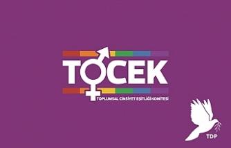 TDP TOCEK 8 Mart Dünya Kadınlar Günü nedeniyle  mesaj yayımladı