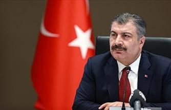 Türkiye Sağlık Bakanı Koca son bir haftada her 100 bin kişide görülen Kovid-19 vaka sayılarını açıkladı