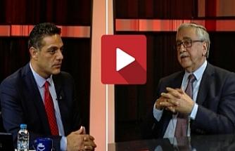 """Akıncı, Kıbrıs Genç Tv'de gündemi değerlendirdi: """"Federasyon zaten Kıbrıslı Türklerin ve Türkiyenin tezidir"""""""