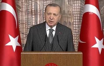 """Erdoğan: """"Kovid-19'un üstesinden hep birlikte geleceğiz"""""""