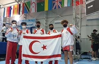 KKTC Kickboks Milli Takımımız Antalya'dan bronz madalya ile döndü