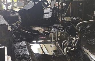 Lefkoşa'da yangın...1 kişi yaralandı