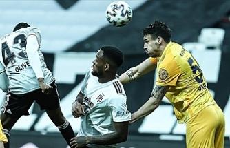 Lider Beşiktaş, MKE Ankaragücü maçında 2 puan yitirdi