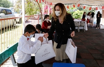 Sibel Tatar'dan 23 Nisan ziyareti