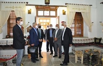 Türkiye Belediyeler Birliği heyeti Güzelyurt'ta temaslar yaptı