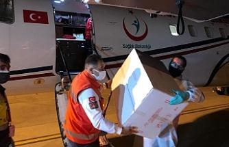 Türkiye'nin gönderdiği 40 bin doz aşı daha KKTC'ye ulaştı