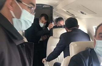Türkiye Tarım ve Orman Bakanı Pakdemirli'nin yer aldığı uçak Malatya'ya zorunlu iniş yaptı
