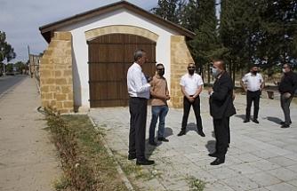 Ataoğlu, Lefke, Güzelyurt ve Girne'de müze çalışmalarını inceledi