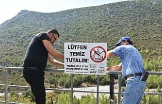 """Çevre Koruma Dairesi """"Elindeki çöpü yere atma"""" sloganıyla temizlik seferberliği düzenliyor"""