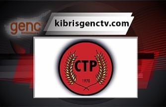 CTP, Cumhurbaşkanı Tatar'ın Meclis'teki bilgilendirme toplantısında katılmayacağını açıkladı