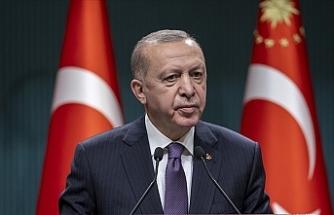 """Erdoğan: """"Uluslararası camia İsrail'e güçlü ve caydırıcı bir ders vermeli"""""""