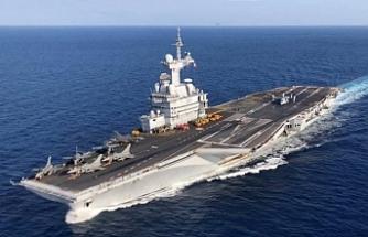 Fransız uçak gemisi 3.kez Güneyde