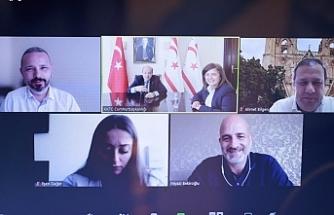 Tatar, Cumhurbaşkanlığı Girişimcilik Komitesi ile çevrim içi görüştü