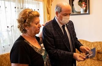 Tatar'dan Şehit ailelerine bayram ziyareti