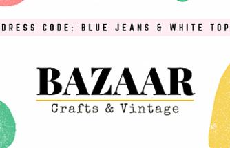 """Crafts & Vintage Bazaar""etkinliği"