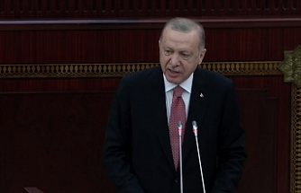 Erdoğan,Azerbaycan Milli Meclisine hitap etti