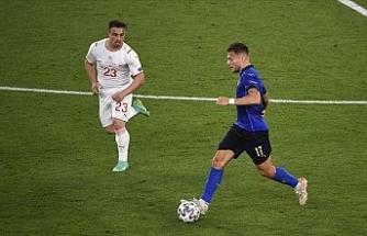 İtalya: 3  İsviçre'yi: 0.