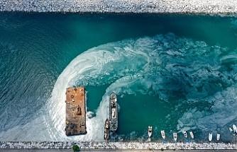 Marmara Denizi'nden 9 günde 3 bin 539 metreküp müsilaj temizlendi