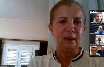 Karantinada bulunan Canaltay, müdürlerle çevrimiçi görüşme yaptı