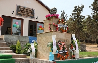 Kayıp şehit milletvekili Cengiz Ratip büstü açılışı gerçekleştirildi