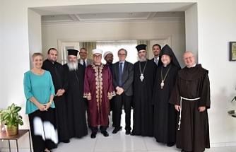 Kıbrıs Barış Sürecinde Dini Yol Ofisinden Atalay'a teşekkür