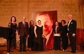 Kıbrıslı Türk opera sanatçısı Bas Attila Manizade anıldı