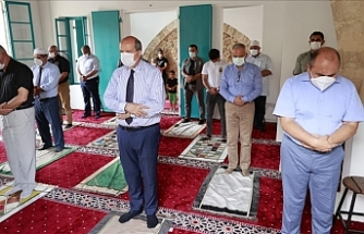 Maraş'ta Bilal Ağa Mescidinde ilk cuma namazı