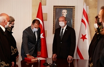 Talat Usar, Tatar huzurunda yemin etti