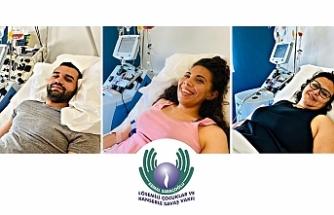 Üç Kıbrıslı Türk daha ilik/kök hücre bağışında bulundu