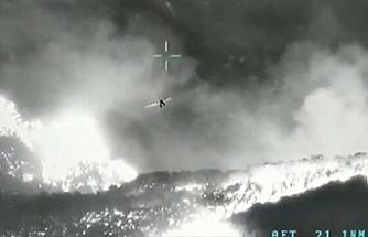 İHA'ların nokta tespitiyle yer bildirmesi bazı yangınlar söndürüldü