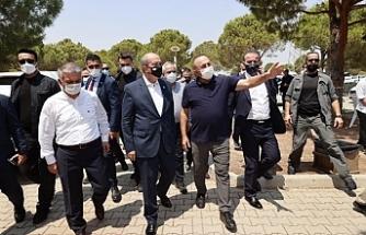 Tatar, Manavgat'taki Yangın Yönetim Merkezi'ni ziyaret etti