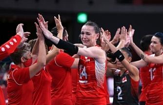 Türkiye A Milli Kadın Voleybol Takımı 2020 Tokyo Olimpiyat Oyunları'na çeyrek finalde veda etti