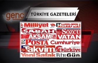 Türkiye  Gazetelerinin Manşetleri - 1 Ağustos 2021