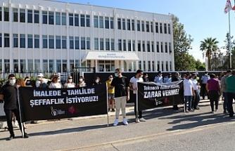CTP'den Başbakanlık önünde eylem
