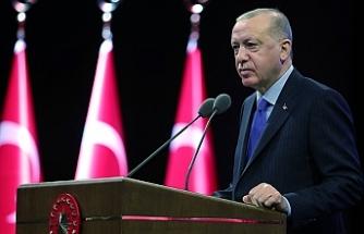 """Erdoğan'dan Türk Dil Bayramı mesajı: """"Türkçemize sahip çıkmanın hayati önemi haizdir"""""""
