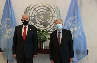Tatar, BM Genel Sekreteri ile görüştü