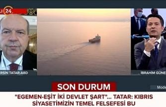 """Tatar: """"KKTC mutlaka tanınacak"""""""
